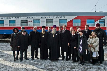 Завершил свою работу поезд За духовное возрождение России