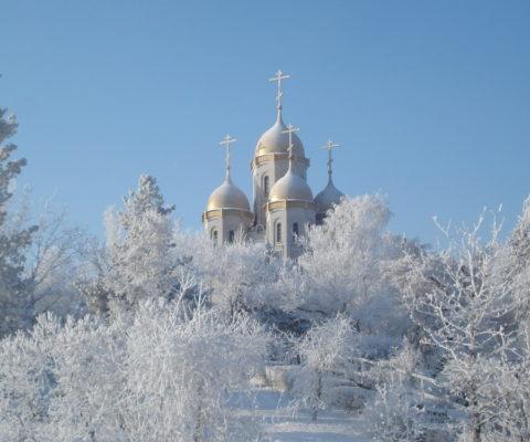 Рождественское поздравление Патриарха Кирилла. 2013 г.